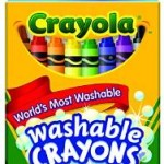 Crayola Washable Crayons, 24 count For $1.97