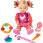 Little Mommy Let's Make Music Doll Only $8!