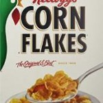Pack of 12, 18 Ounce Kellog's Corn Flakes Cereal For $14.24