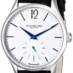 Stuhrling Original Men's Cuvette Automatic Silver Dial Watch Only $38.26 Shipped!!
