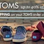 Up To 40% Off TOMS For The Whole Family at Zulily!