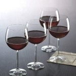 Set of 4 Gorham The Entertainer Wine Glasses Only $7.89!