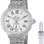 "HOT! GV2 by Gevril Women's ""Astor"" Diamond-Studded Stainless Steel Watch Only $192.99!!"