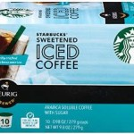 60 Starbucks Iced Coffee K-Cups For Only 26¢ Per K-Cup!!