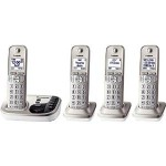 Panasonic dect_6.0 4-Handset Cordless Telephone Only $64.99 Shipped!