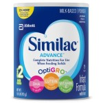 Pack of 4 Stage 2 Similac Advance Infant Formula 29.8 Ounce Canisters Just $94.95-$107.31 + Free Shipping