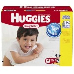 HOT! Large Case of Huggies Diapers For As Low As $16.98 Shipped!