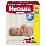 Amazon Mom: Large Case Of Huggies Diapers Only $27.60 Shipped!