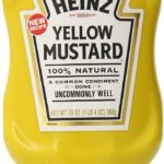 Pack of 12 Heinz Yellow Mustard For Just 55¢ Per Bottle!