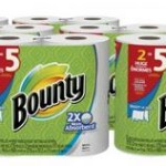 12 Huge Bounty Paper Towel Rolls For Just $18.39 – $20.17 + Free Shipping