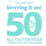 Carter's: 50% Off All Coats, Boots, Mittens & More + Extra 15%-20% Off + Free Shipping