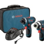Bosch 12-Volt Max Lithium-Ion 2-Tool Combo Kit (Drill/Driver and Impact Driver) with 2 Batteries, Charger and Case Just $119 Shipped – Today Only