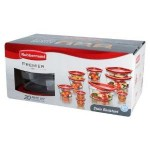 Rubbermaid 20-Piece Premier Food Storage Container Set For Just $17.99