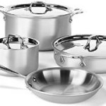All-Clad 7-Piece Professional Master Chef 2 Stainless Steel Tri-Ply Bonded Cookware Set Just $299! (Was $614!)
