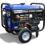 DuroMax 4400-Watt 7 HP Dual Fuel Propane/Gas Powered Portable Electric Start Generator Just $399.99 Shipped!