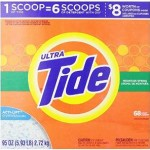 95 Oz Box Of Tide Ultra Mountain Spring Scent Powder Laundry Detergent Just $8.17-$9.37 Shipped