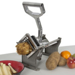 Potato French Fry Fruit Vegetable Cutter Slicer Commercial Quality W/ 4 Blades Just $22