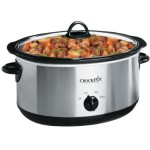 Crock-Pot 7-Quart Manual Slow Cooker Just $19.99 or 3-Quart Slow Cooker Just $12.49 + Free Shipping
