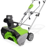 GreenWorks 13 Amp 20″ Corded Snow Thrower Just $109.99 Shipped!