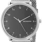 Skagen Hald Men's Steel Mesh Watch Just $66 Shipped!