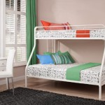 Twin Sized Bunk Bed Over Full Sized Bed with Metal Frame Just $122.39 w/ Free Shipping!