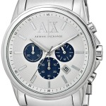 Armani Exchange Men's Analog Display Analog Quartz Silver Watch Just $96.90 Shipped!
