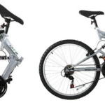 Stowabike 26″ Folding Dual Suspension Mountain Bike 18 Speed Shimano Bicycle Just $139.99 Shipped!