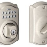 Get 68% or More Off Schlage Camelot Keypad Deadbolts Today at Amazon!