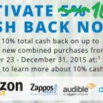 10% Cash Back At Select Merchants Including Amazon w/ Chase Freedom Card + Increased Freedom Bonus Offer