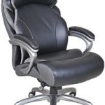 Serta Big and Tall Smart Layers Tranquility Executive Office Chair with AIR Technology Just $260 Shipped