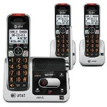 AT&T DECT 6.0 Phone Answering System w/ 3 Cordless Handsets Just $63.95 + Free Shipping