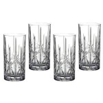 Marquis by Waterford Sparkle High Ball Glasses, 22-Ounce, Set of 4 Only $19.99