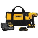 DEWALT 20V MAX Lithium-Ion Compact Drill/Driver Kit For $99 & Free Shipping!