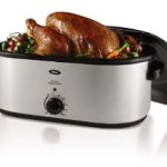 Oster 22-Quart Roaster Oven with Self-Basting Lid w/ Stainless Steel Finish Just $41.99 Shipped!