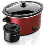 Hamilton Beach 5-Quart Oval Slow Cooker + Bonus 2 Cup Food Warmer Just $21.99