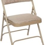 Carton of 4 Upholstered Premium Fabric Seat and Back Folding Chair with Triple Brace Just $91.64 & Free Shipping