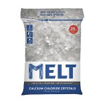 25-Pound Snow Joe Melt Calcium Chloride Crystals Ice Melter Resealable Bag Just $11.99!