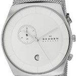 "Skagen Men's ""Havene"" Stainless Steel Watch with Mesh Band Just $75.68 Shipped!"