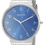 Skagen Men's Ancher Analog Quartz Silver Watch Just $63.61 Shipped