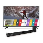 LG Electronics 43-Inch Smart LED TV with Soundbar Just $399.99 Shipped!!