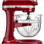 Hot! KitchenAid 6-Qt. Professional 600 Design Series with Glass Bowl Just $289.99 Shipped + $50 Visa Card Rebate = $239.99!!