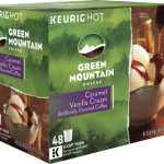 48-Pack of Keurig Green Mountain Coffee Caramel Vanilla Cream K-Cups Just $9.99 Shipped!