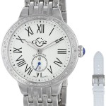 "GV2 by Gevril Women's ""Astor"" Diamond-Studded Stainless Steel Watch Just $144.74 w/ Free One Day Shipping!!"