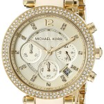 Michael Kors Women's Parker Two-Tone Watch Only $147.49 & Free Shipping!