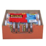 Scotch Heavy Duty Shipping Packaging Tape, 6 Rolls with Dispenser Just $7.64 + Free Shipping