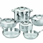 Cuisinart FCT-10 French Classic Tri-Ply Stainless 10-Piece Cookware Set Just $259 Shipped!
