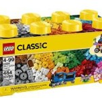 LEGO Classic Medium Creative Brick Box (484 Pieces) Just $28.99