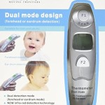Innovo Forehead and Ear Thermometer – Gift Packaging – For Just $28.99