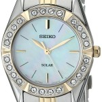 Seiko Women's Solar-Power Two-Tone Bracelet Watch Just $84.99 & Free Shipping!