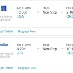 United / American / jetBlue: Fly To/From NYC and Chicago For Just $40 Each Way!